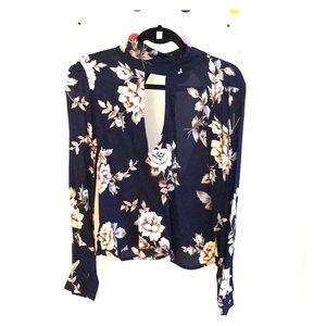 Floral blouse -Flynn Skye